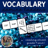 Vocabulary Dominoes CENTER - Reading Street Grade 4 Unit 1