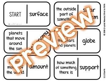Vocabulary Dominoes CENTER - Wonders Grade 3 Unit 3