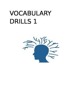 Vocabulary Drill 1