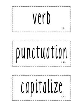 Vocabulary ELA Word Wall - 2nd Grade CC Aligned