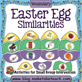 Vocabulary - Easter Egg Matching
