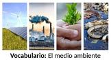 Vocabulary - El medio ambiente - PowerPoint- Realidades 3 - Chapter 9