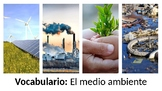 Vocabulary - El medio ambiente - PowerPoint - Realidades 3
