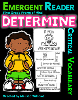 Vocabulary DETERMINE transitional prepositions