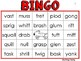 Vocabulary Enrichment Bingo cvcc ccvc
