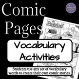 Vocabulary Comprehension Activity for Any Novel