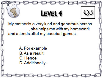 Vocabulary Escape Room English: Context Clues, Analogies, Synonyms/ Antonyms etc