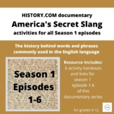 "Vocabulary & Etymology using ""America's Secret Slang"" docu"