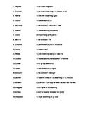 Vocabulary Exercise 2