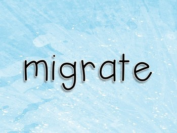 Vocabulary Exercise Review: The Journey Stories of Migration Journeys 3rd Grade