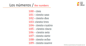 Vocabulary Exercise - The numbers 100-1000  with 35 INTERACTIVE exercises