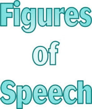 Vocabulary: Figures of Speech 1 Packet