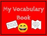 Vocabulary Fill-in student book (Primary grade)