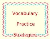 Vocabulary Fill - it
