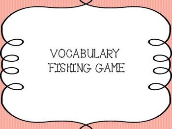 Vocabulary Fishing Game