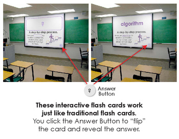 5th Grade Math Vocabulary Interactive Flash Cards