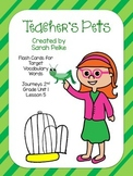 Vocabulary Flash Cards for Journey's Teacher's Pets