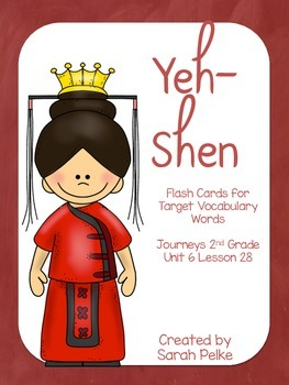 Vocabulary Flash Cards for Journey's Yeh-Shen