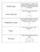 Vocabulary Flashcards 5th Grade Math