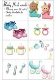Vocabulary Flash cards: Baby