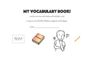 Vocabulary Focus Booklet