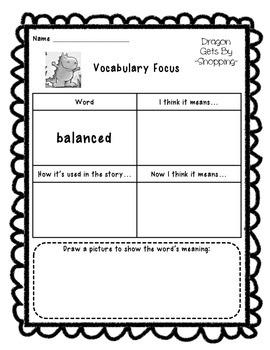 Vocabulary Focus - balanced