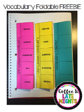 Vocabulary Foldable for Any Word List!