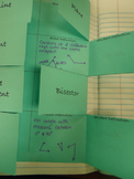 Vocabulary Foldable for Interactive Notebook