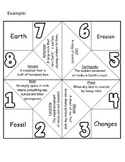 Vocabulary Fortune Teller - Cootie Catcher