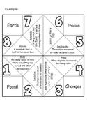 Vocabulary Fortune Teller - Cootie Catcher