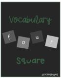 Vocabulary Four Square
