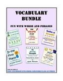Vocabulary Activities Bundle 2 (Save 25%; 6 Activities; 21