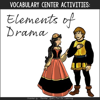Vocabulary Fun: Elements of Drama