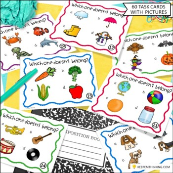 Vocabulary Fun: Classifying and Sorting Common Nouns, Which One Doesn't Belong?