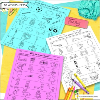 Vocabulary Activities: Classify and Sort Common Nouns, Which One Doesn't Belong?