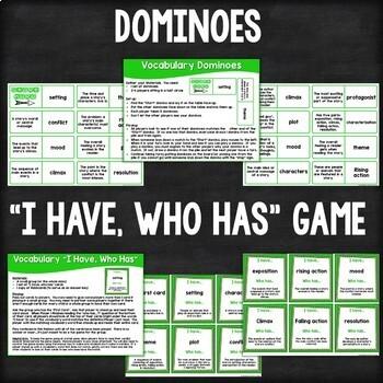 Vocabulary Fun: Story Elements