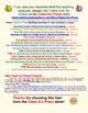 Vocabulary Fun and Halloween Fun (Free Poster)