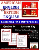 Vocabulary Activities: British & American English (Gr. 7-1