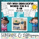 Following Directions Activity Fun with Directional Words E