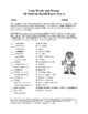 Vocabulary Activities: Latin Words and Phrases for All (7 p., Ans. Key, $4)
