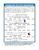 Vocabulary Activities Fun: Opposites--Contronyms (4 Pg., A