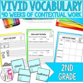Vocabulary GROWING BUNDLE for Second Grade