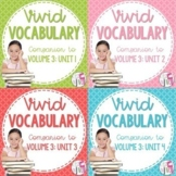 Vocabulary BUNDLE for Volume 3 (grades 3-5)