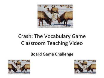 Vocabulary Game Challenge: Three Letter Crash Video