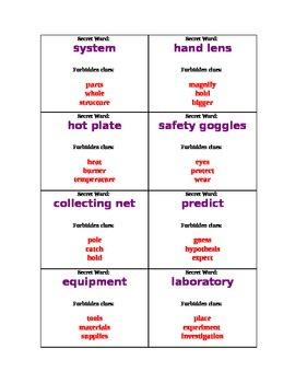 Vocabulary Game-Secret Word