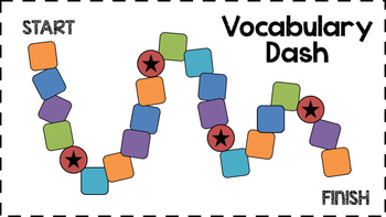 "Vocabulary Game - ""Vocabulary Dash"""