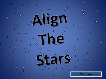 Vocabulary Games Align the Stars