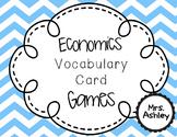Vocabulary Games : Economics, Math Financial Literacy, Soc