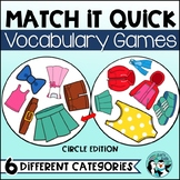 Vocabulary Games Pack - Match It Quick