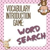 Vocabulary Games: Vocabulary Introduction, Word Search Games (2)
